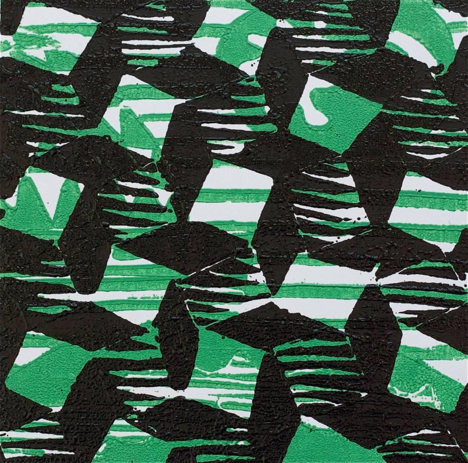 1 Kalevipoeg - 18,2 - Teekond Maailma Otsa (T.Laamann, 2013, woodcutprint, 10x10cm)