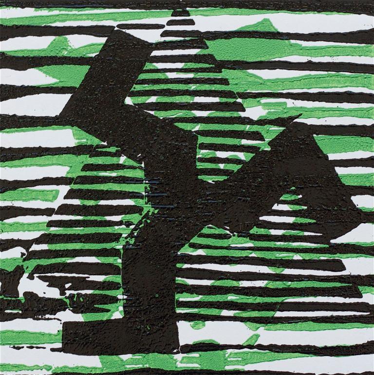 1 Kalevipoeg - 2,2 - Taara (T.Laamann, 2013, woodcutprint, 10x10cm)
