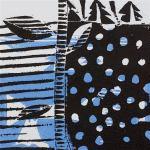1 Kalevipoeg - 8,2 - Tamme Raiumine Mõõgaga (T.Laamann, 2013, woodcutprint, 10x10cm)