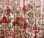 Jnana Yoga III (T.Laamann, 1992, woodcutprint, 43x53cm)