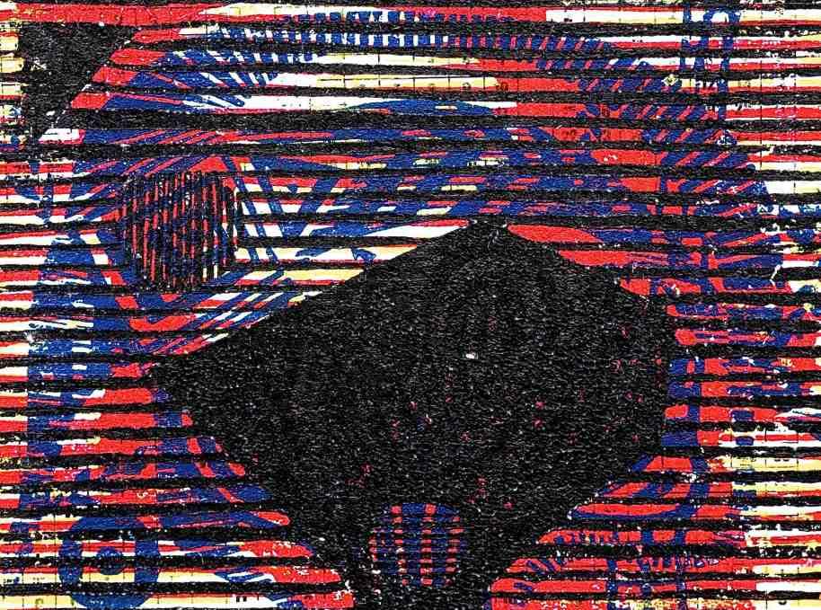AHD2 (2015, Tarrvi Laamann, woodcut, 19x25cm)