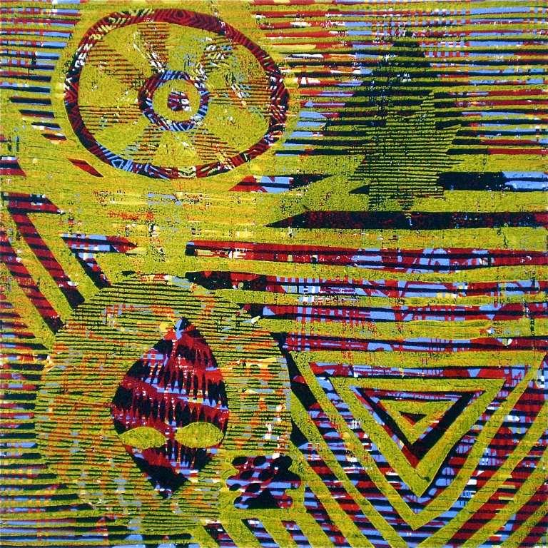 180 Y (Tarrvi Laamann, 2013, woodcutprint, 40x40cm)
